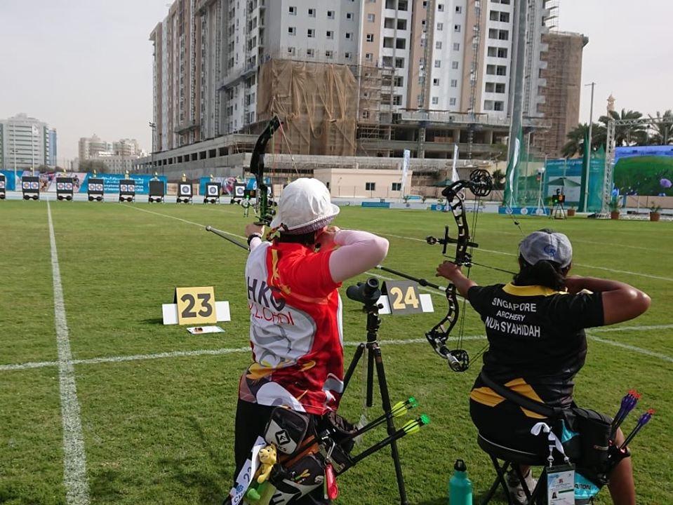 港隊完成杜拜Fazza殘疾人射箭世界排名賽2020排位賽