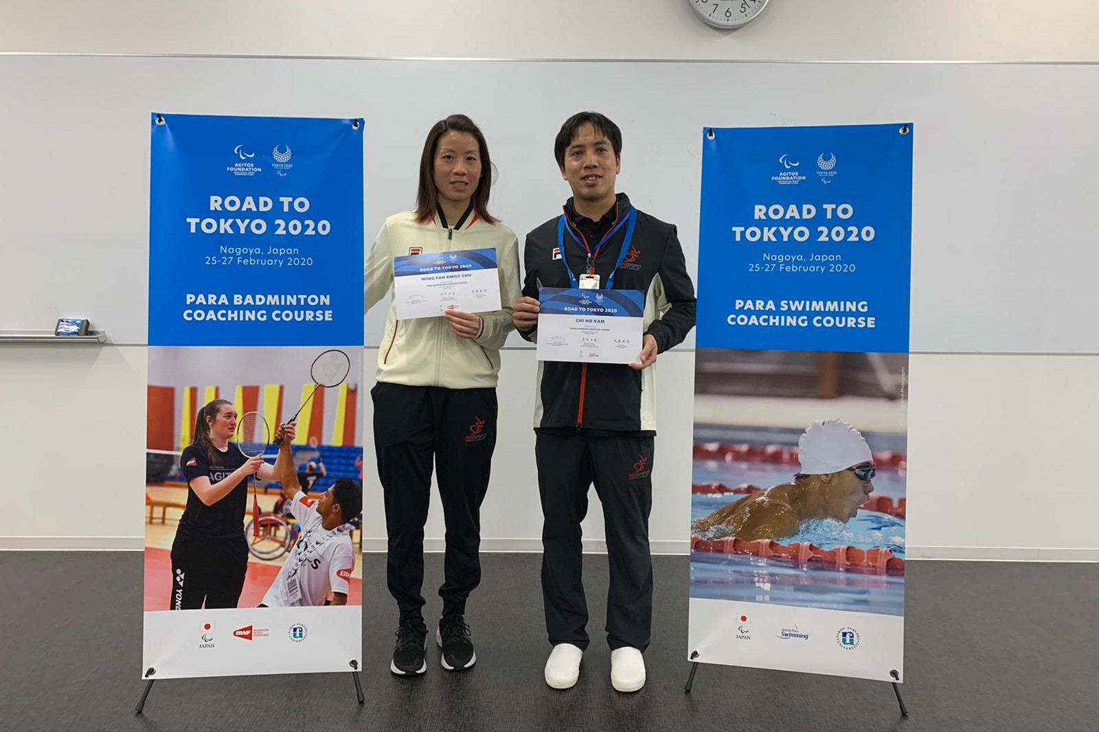 協會代表參加「邁向東京2020」工作坊