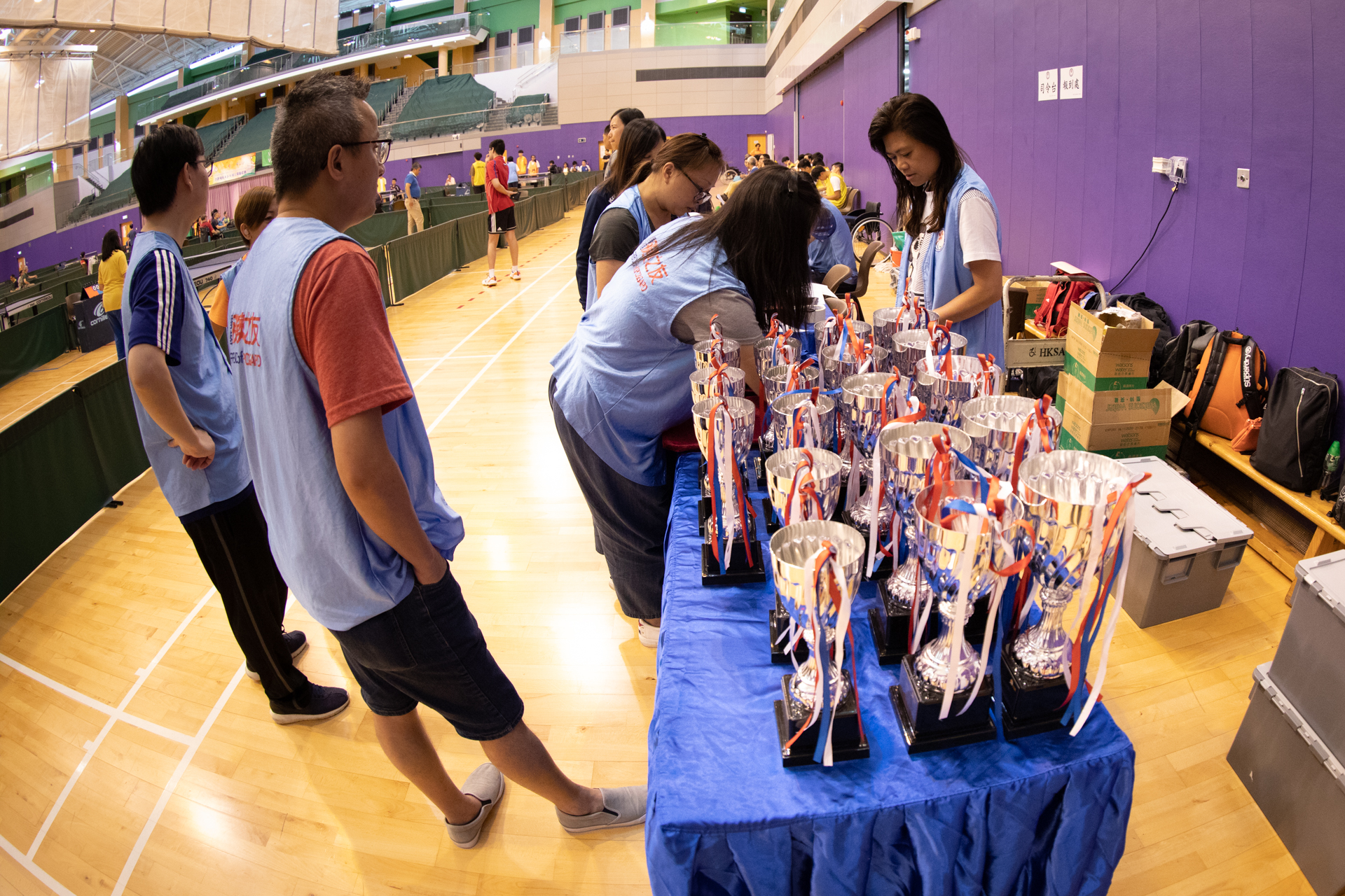 香港殘疾人乒乓球公開錦標賽2019