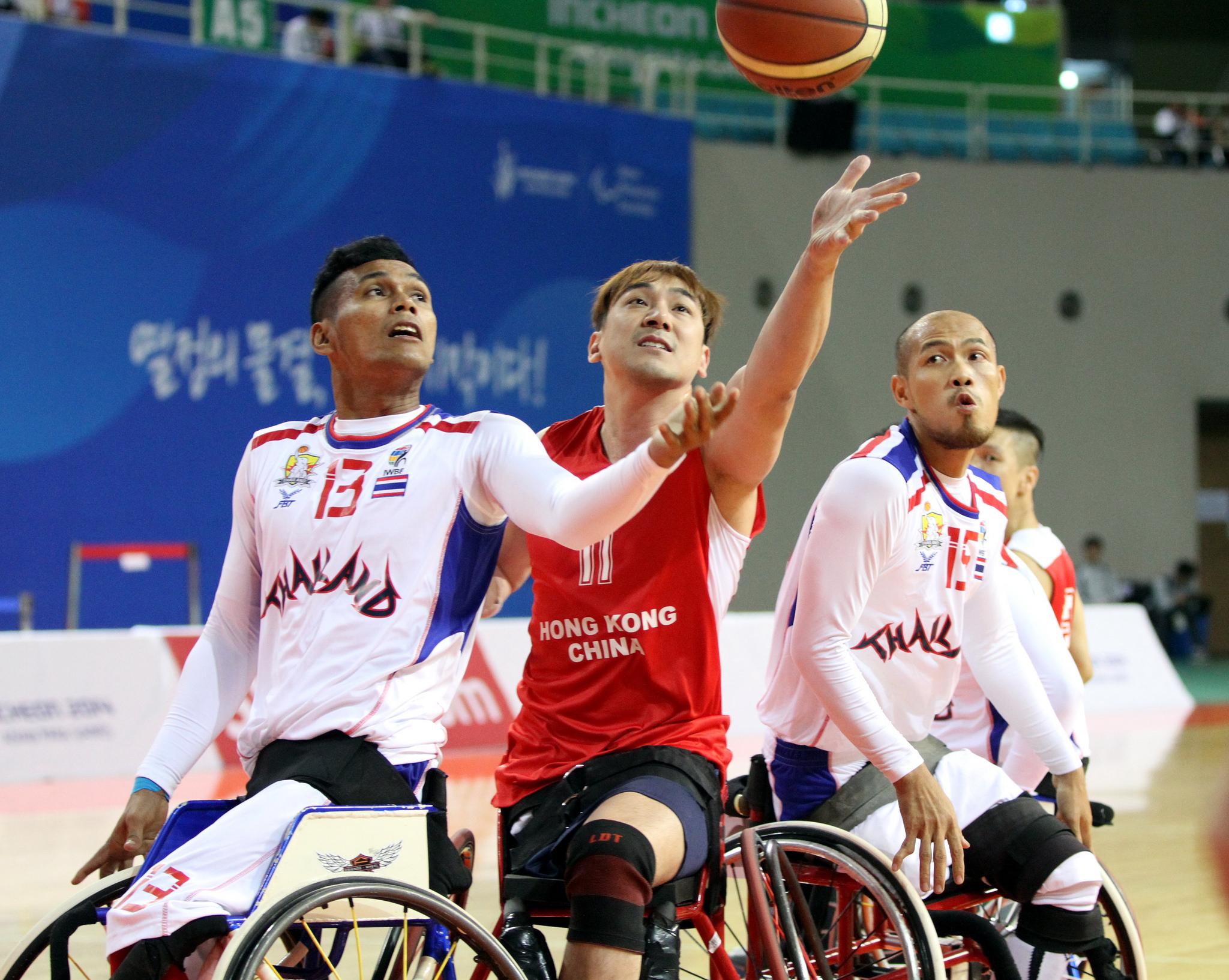 輪椅籃球挑戰賽