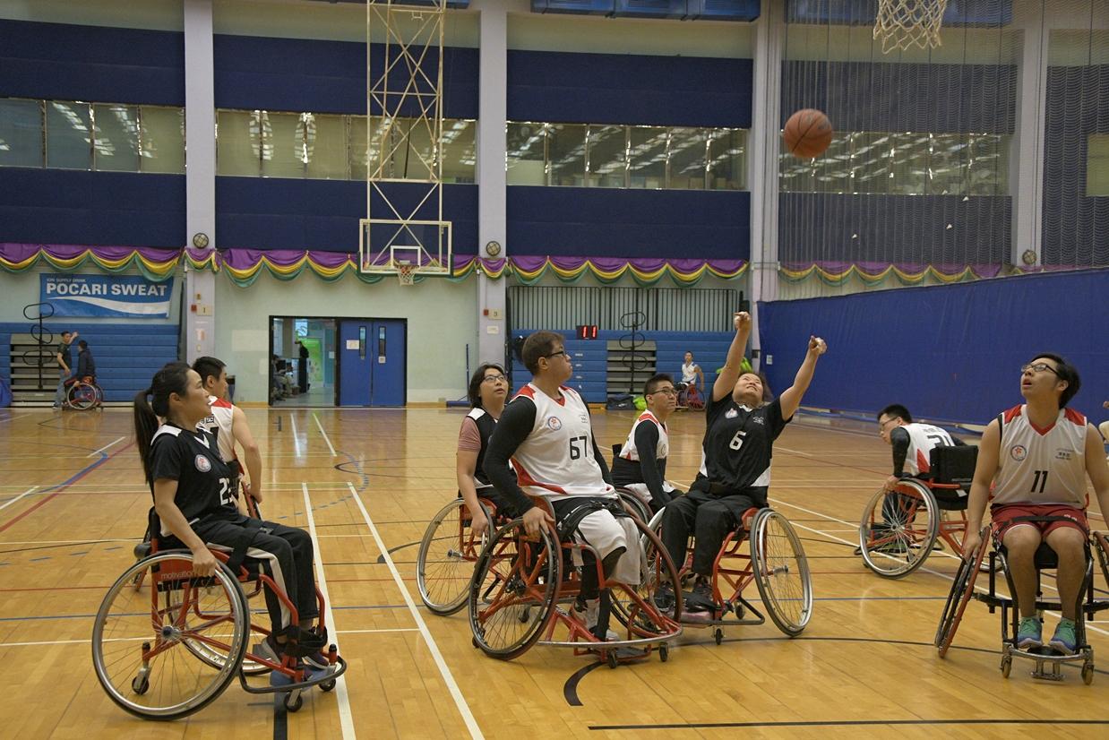 第七屆全港運動會 — 輪椅籃球挑戰賽第三輪初賽