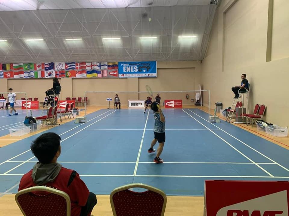 港隊於第五屆土耳其殘疾人羽毛球國際賽 – ENESCUP 2019勇奪三面金牌