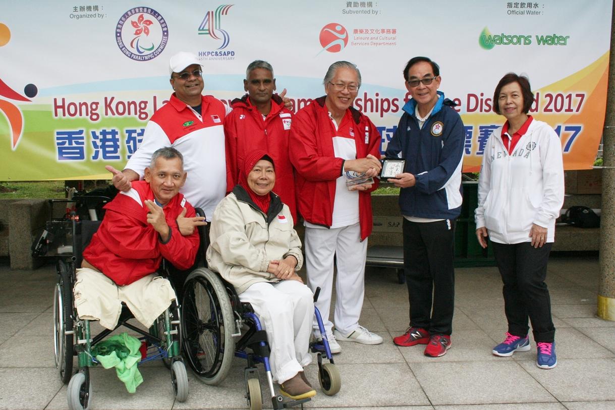 香港殘疾人士草地滾球錦標賽圓滿結束