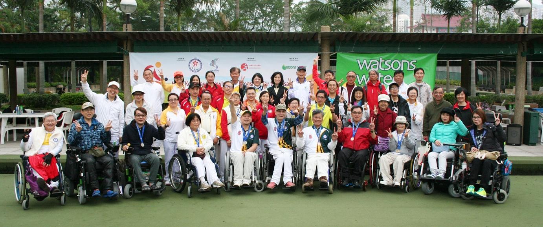 香港殘疾人士草地滾球公開錦標賽圓滿結束