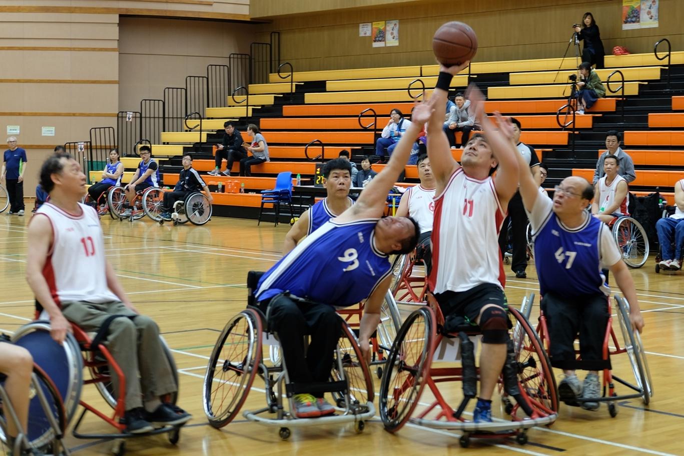 輪椅籃球挑戰賽次輪初賽