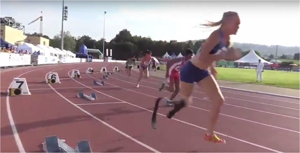 港將完成世界殘疾人田徑青少年錦標賽女子T47級200米決賽