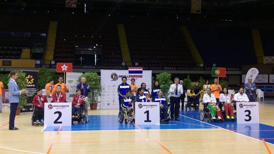 港隊於BISFed 2017世界硬地滾球公開賽勇奪一金一銀