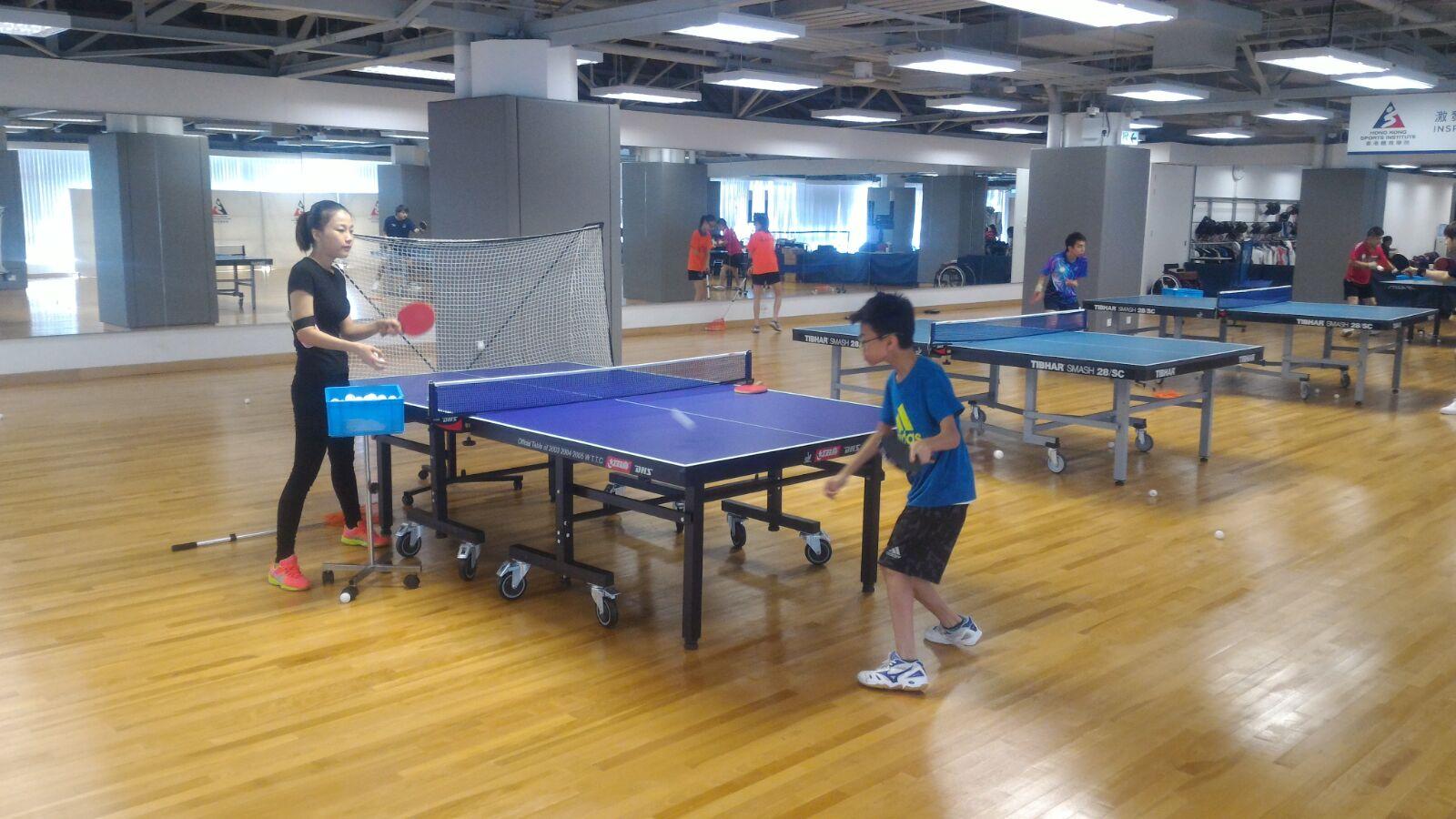 乒乓球運動員集訓經已展開