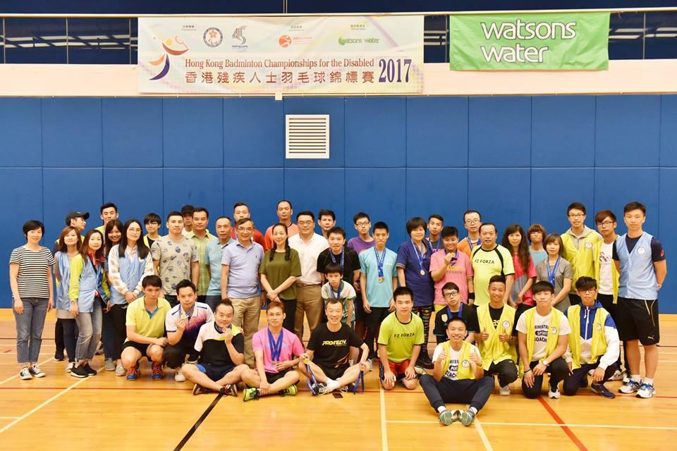 香港殘疾人士羽毛球錦標賽圓滿結束