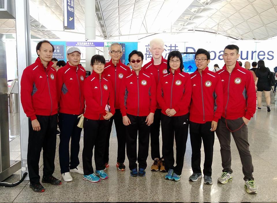 港隊出發參加IBSA保齡球世界錦標賽2017