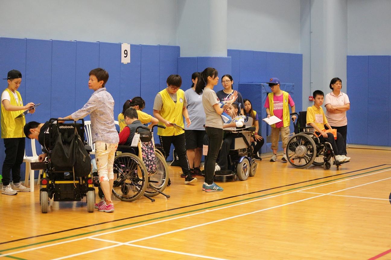 香港殘疾人士週年硬地滾球錦標賽