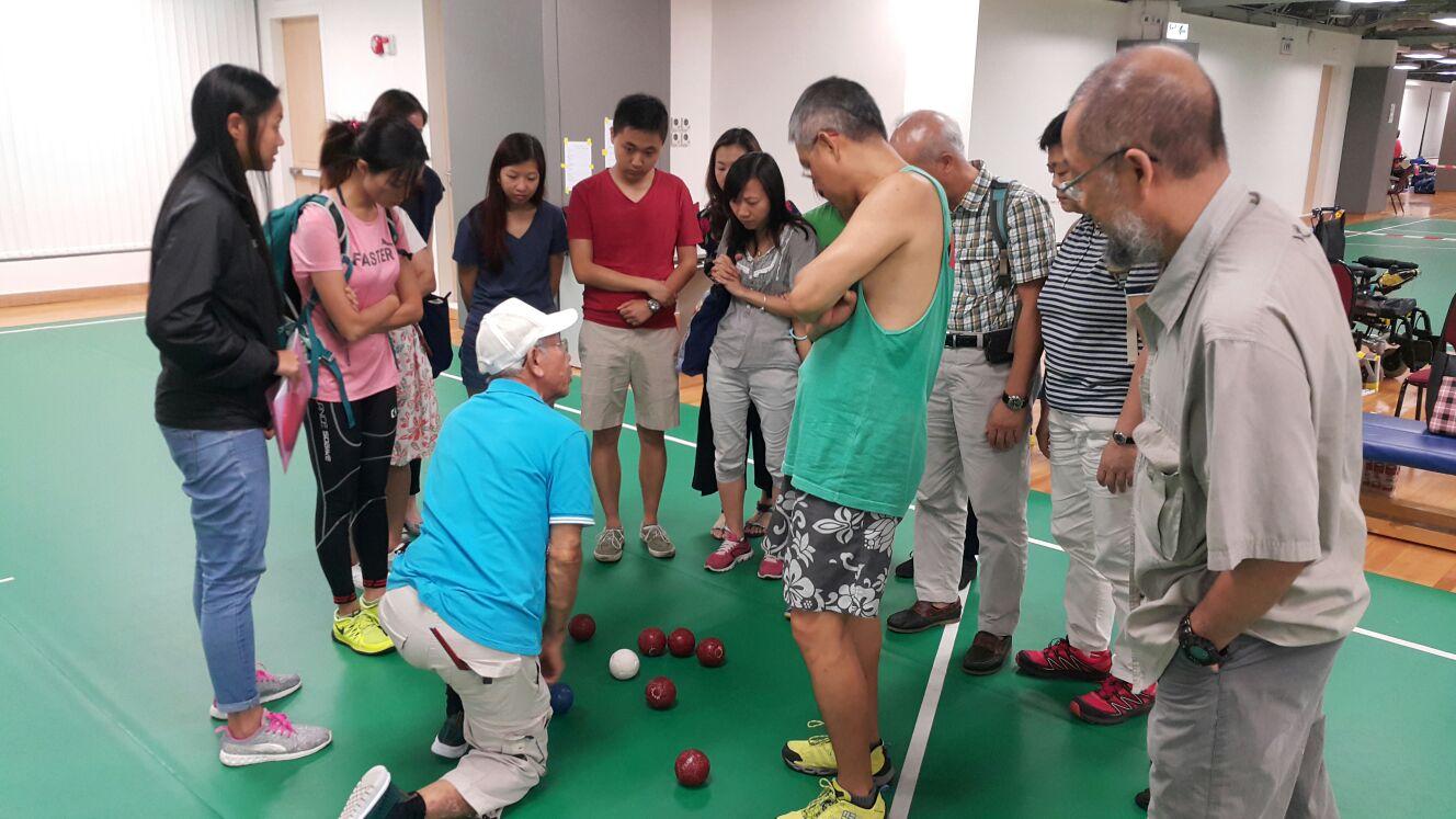 香港殘疾人士週年硬地滾球錦標賽義工簡介會