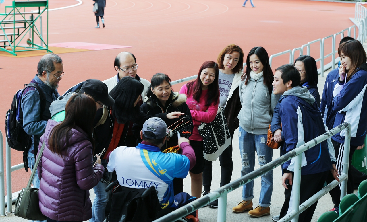 「香港殘疾人士射箭公開錦標賽」賽事觀賞團