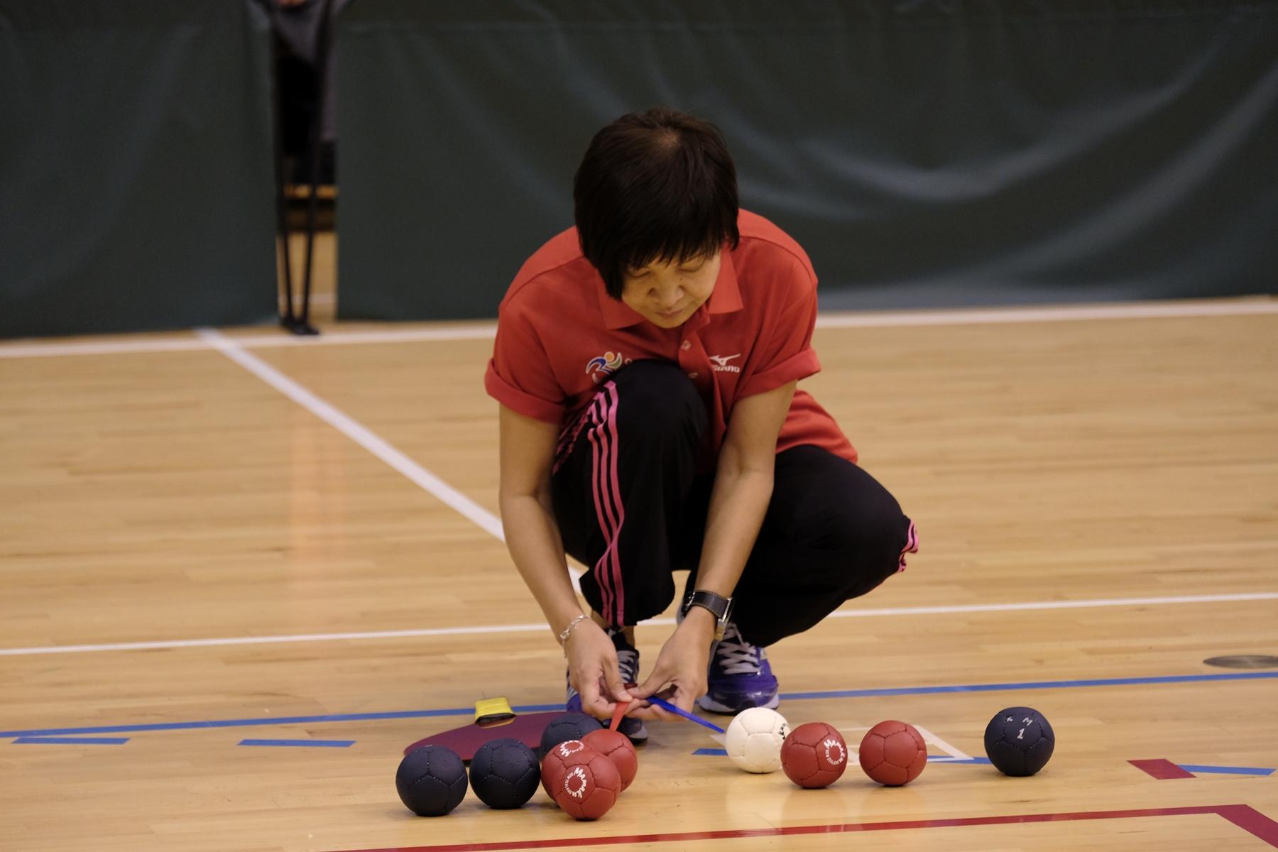 香港殘疾人士硬地滾球錦標賽