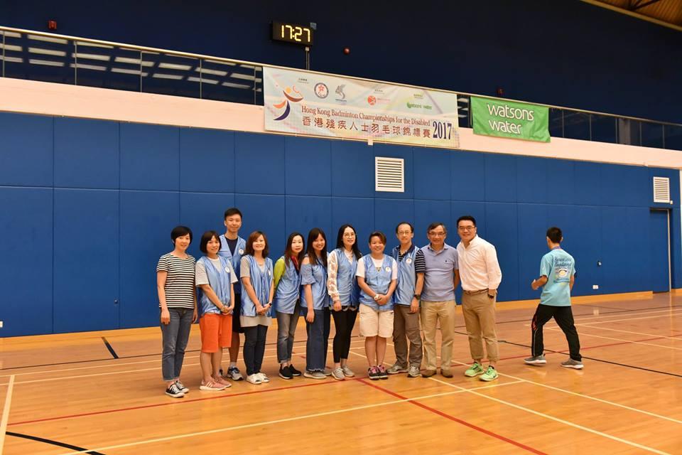 香港殘疾人士羽毛球錦標賽