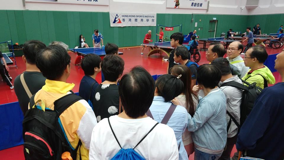 香港殘奧之友運動攝影工作坊