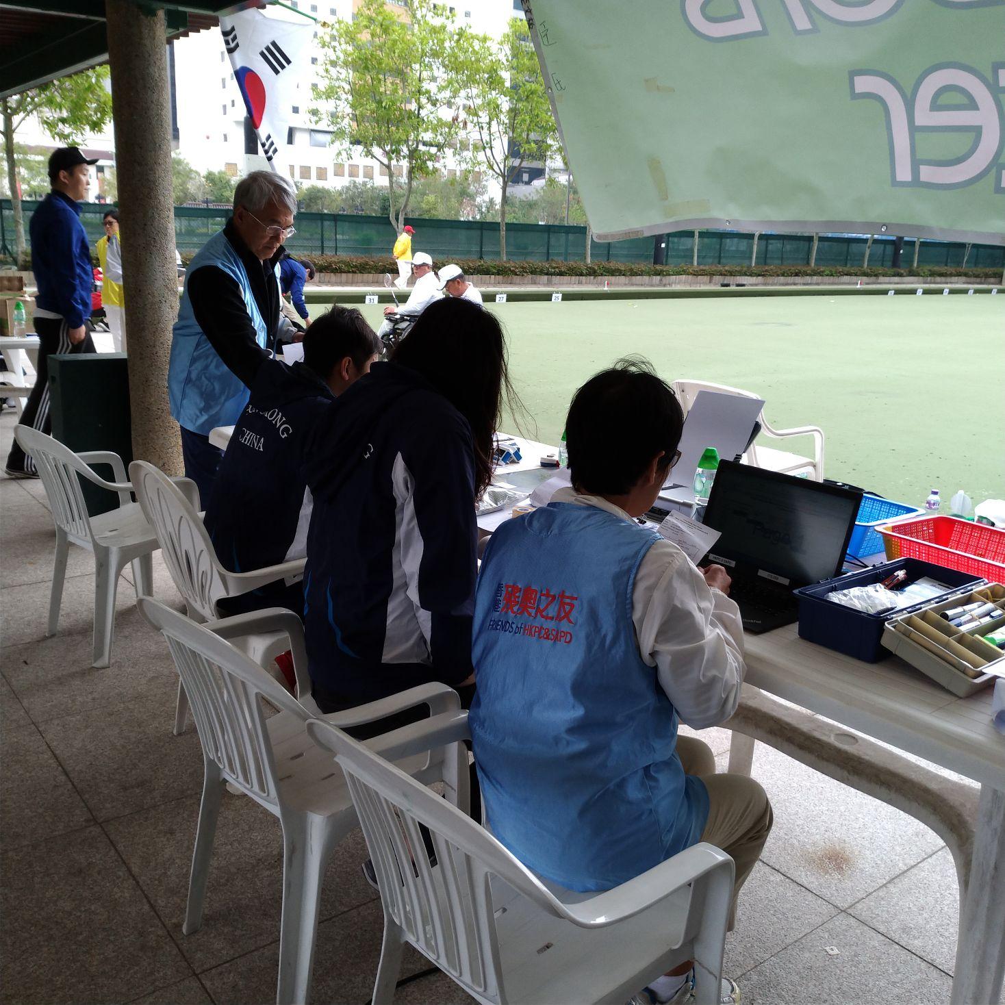 香港殘疾人士草地滾球公開錦標賽