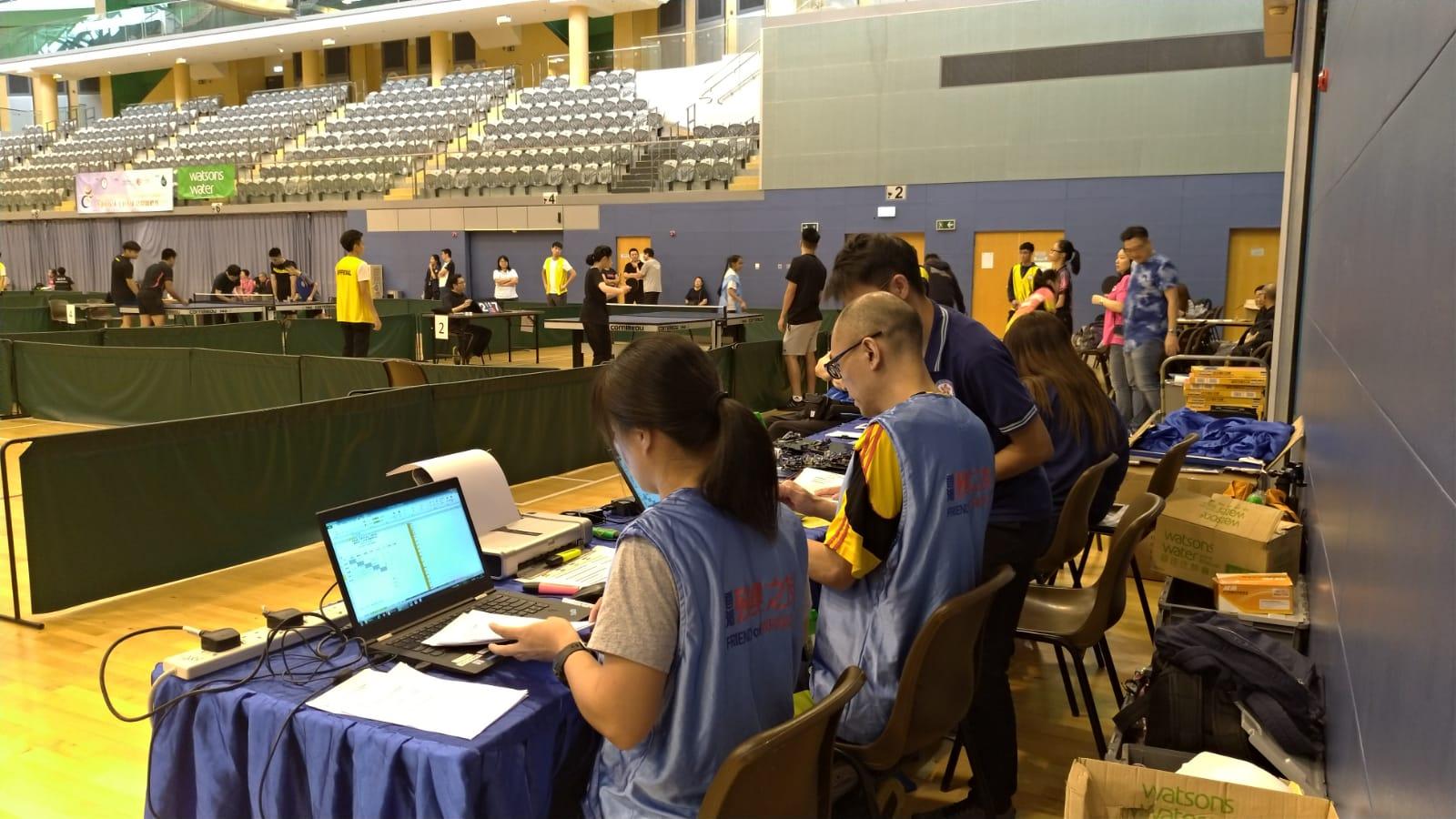 香港殘疾人士乒乓球公開錦標賽
