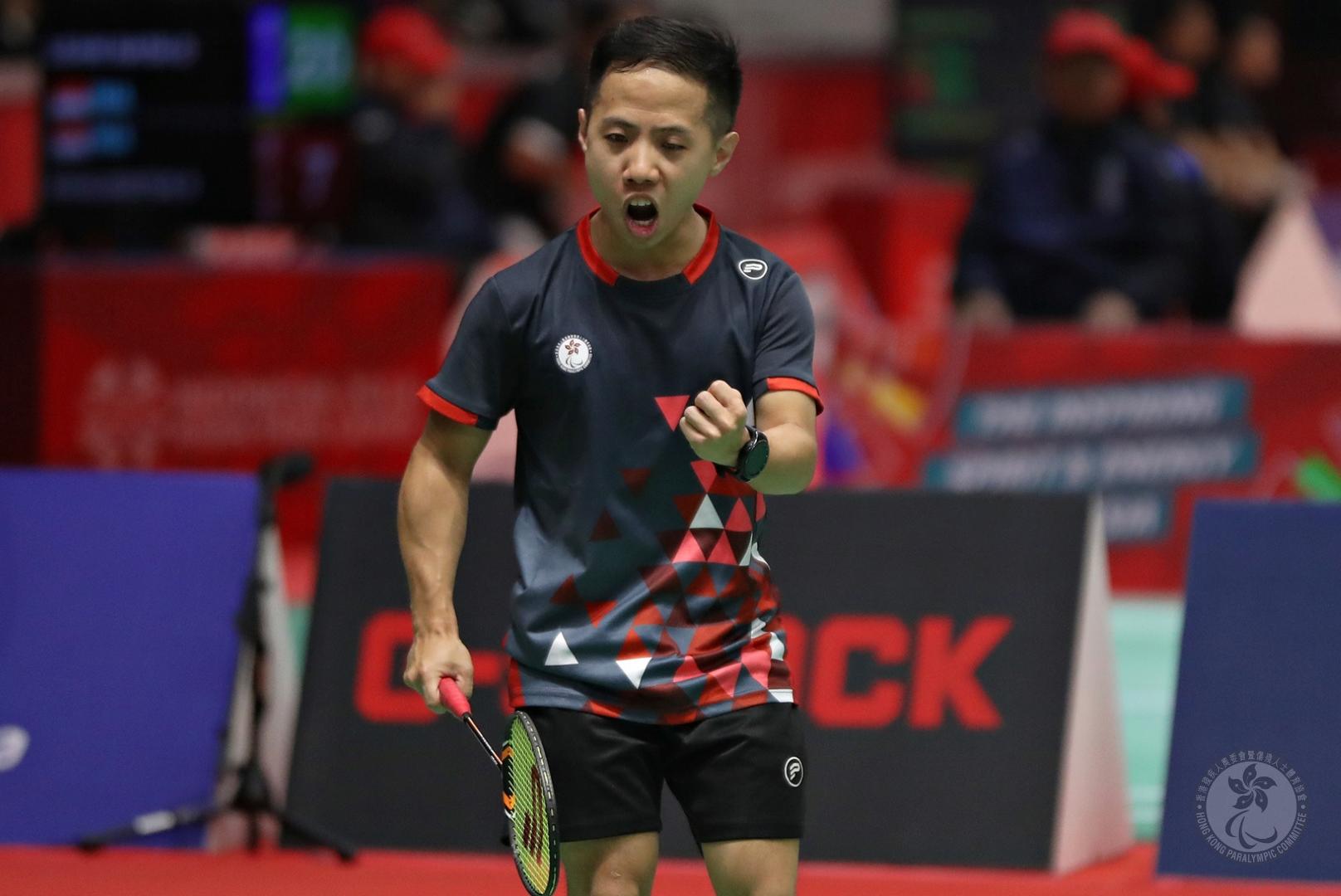 港隊奪東京2020殘奧運羽毛球男子WH2級及SH6級單打資格